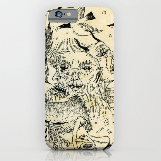 Grotesque Flora and Fauna iPhone & iPod Case