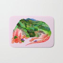 Chianti Landscape Dragon Bath Mat