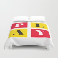 play Duvet Covers featuring Play by KARNATARKA