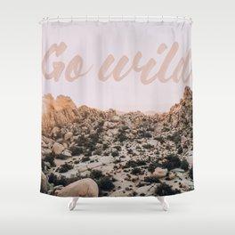 Go Wild Shower Curtain