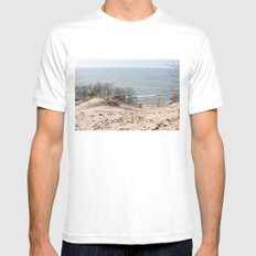 Foothill Mens Fitted Tee MEDIUM White