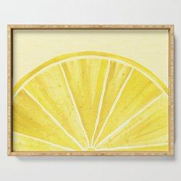Lemony Goodness Serving Tray