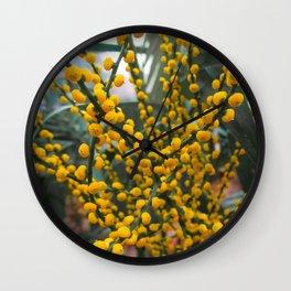 Yell-OW Wall Clock
