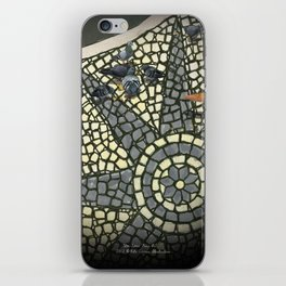 Portuguese Pavement iPhone Skin