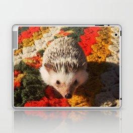 Juni Hedgehog Blanket Laptop & iPad Skin