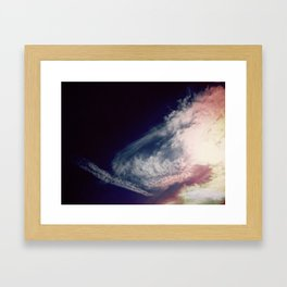 color sky 2 Framed Art Print