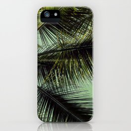 Tropical summer breeze iPhone Case
