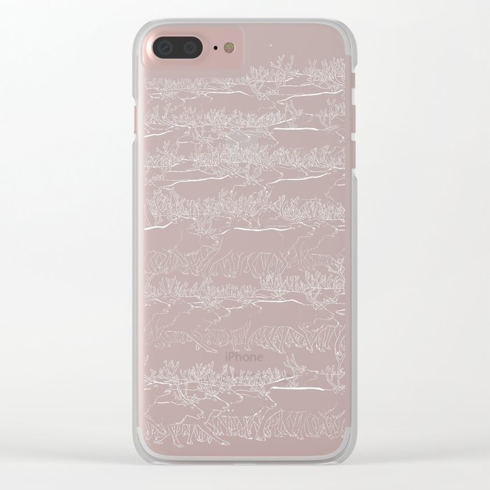 Polar Day Clear iPhone Case