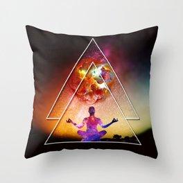 Yoga Energy by GEN Z Throw Pillow
