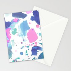 Watercolor Splash 2 Stationery Cards