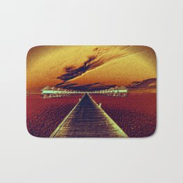 Fierce Sunset Bath Mat
