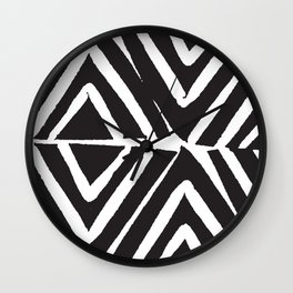 zig zag Wall Clock