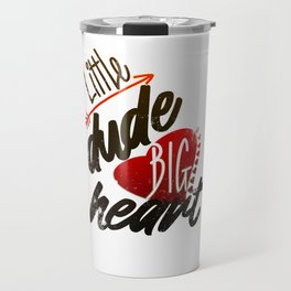 Cool Valentines Day T-Shirt Gift for Him Travel Mug