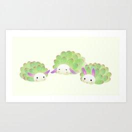 Sea sheep Kunstdrucke