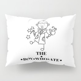 The Boy Who Ate Line Art - Ron Weasley Pillow Sham