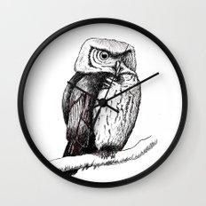 The Owl Wall Clock