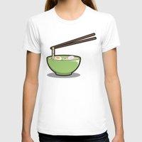 ramen T-shirts featuring Food Lantern - Ramen by binario
