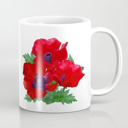 Red oriental poppies Coffee Mug