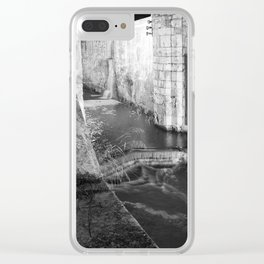 Upstairs Down the River Clear iPhone Case