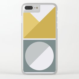 Geometric Form No.4 Clear iPhone Case