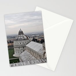 View From The Leaning Tower Stationery Cards