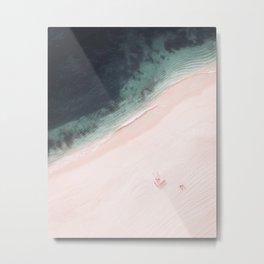 Beach Love Vlll Metal Print