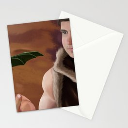 Dragonling and Merc Stationery Cards