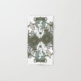 SINS Mentis - Envy Queen of Clubs Hand & Bath Towel