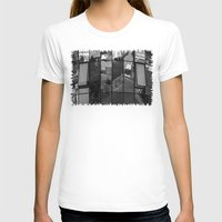 architecture T-shirts featuring architecture Facade by Karl-Heinz Lüpke