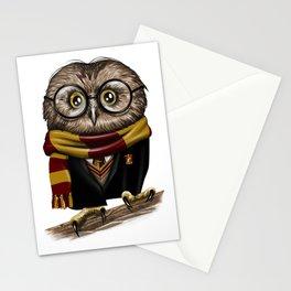 Owly Wizard Stationery Cards