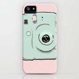 Instax Green Camera iPhone Case