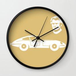Jaguar E-Type Wall Clock