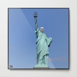 Statue of Liberty Revised Metal Print
