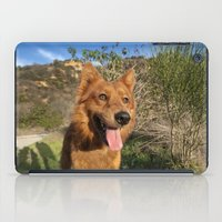 larry iPad Cases featuring Happy Larry by Adam Latham Photography