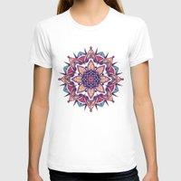 mandala T-shirts featuring Mandala by Pancho the Macho