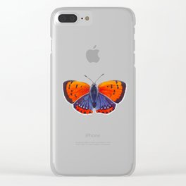 Fire Dragon Clear iPhone Case