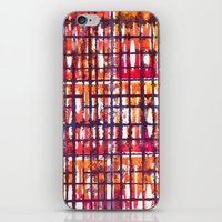 plaid iPhone & iPod Skins featuring Plaid by Selkiesong
