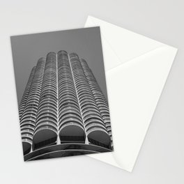 Marina City Tower Photo, Chicago, Architecture Stationery Cards