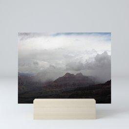 Dark Clouds over Grand Canyon Mini Art Print