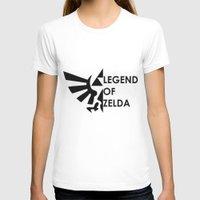 zelda T-shirts featuring Zelda  by Clair Mtz