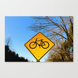 Bicycle for life. Canvas Print