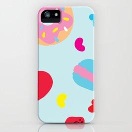 Sugar Overload Pattern iPhone Case