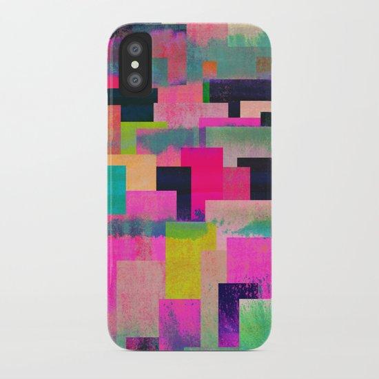 colour + pattern 4 iPhone Case