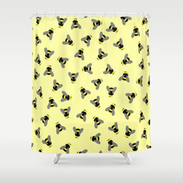 Scatterbees Shower Curtain