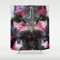 rorschach Shower Curtains featuring RORSCHACH by ....