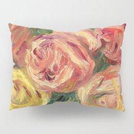 "Auguste Renoir ""Roses"" Pillow Sham"