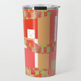 Abstract Pop Art Travel Mug