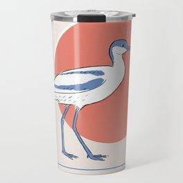 Pied avocet Travel Mug
