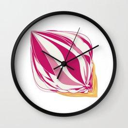 Strawberry Icecream Wall Clock