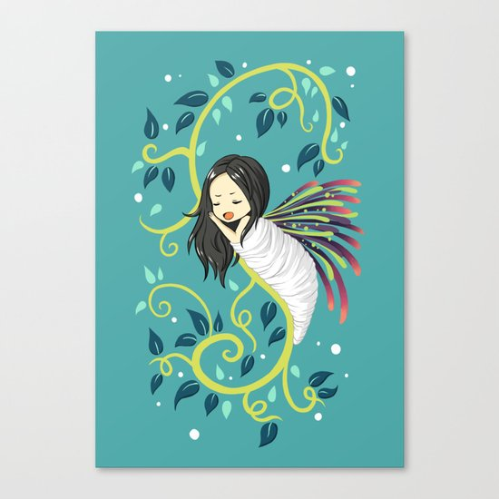 Cocoon Canvas Print